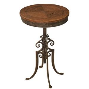 Paris Cafe Table Wood Top