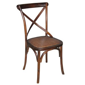 Tuileries Side Chair in Walnut Finish