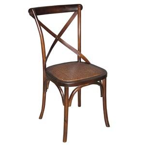 Tuileries Side Chair in Walnut Finish | Sarreid