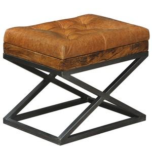 Leather Cushion Bench | Sarreid