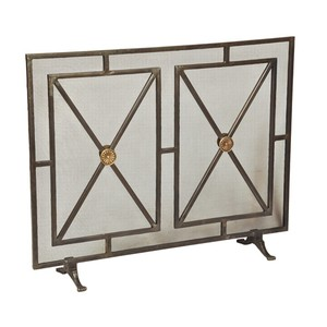 Paneled Firescreen | Sarreid