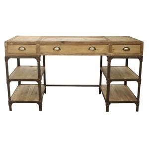 Pine & Iron Desk   GJ Styles