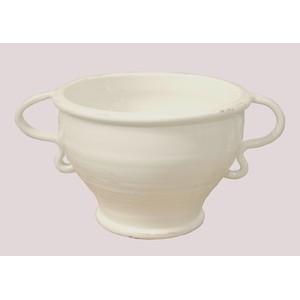 Clara Urn In Antique White | GJ Styles