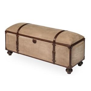 Canvas Trunk Bench | Sarreid
