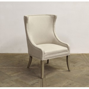 Linen Arm Chair | GJ Styles