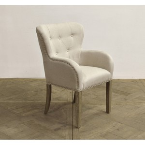 Rounded Wingback Armchair