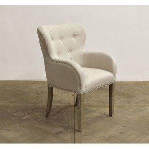 Rounded Wingback Arm Chair | GJ Styles