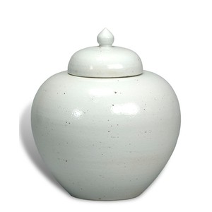 Freeman Ceramic Ginger Jar | Sarreid