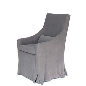 Skirted Arm Chair | Sarreid