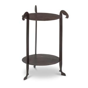 Forged Horse Leg Side Table | Sarreid