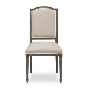 Louis XVI Squared Dining Side Chair | Sarreid