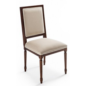 Square Back Dining Side Chair