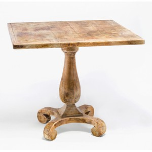 Bistro Table in Antique Oak
