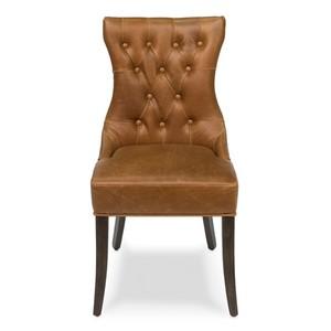 Hinckley Leather Side Chair | Sarreid