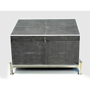 Hepburn Shagreen Box On Stand