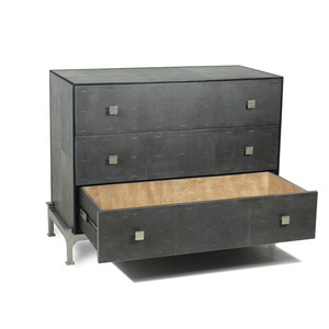 Midnight Shagreen Chest Of Drawers | Sarreid