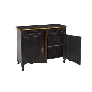 Louis XV Cabinet in Black