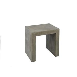 Vicar's Table in Concrete Finish