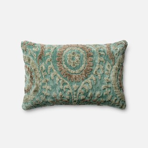 Dr. G Blue Grass Pillow | Loloi