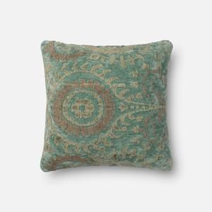 Dr. G Blue Grass Pillow   Loloi