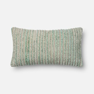 Miso Silver Sage Pillow | Loloi