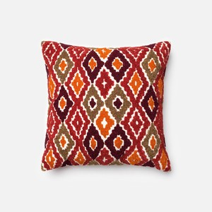 Red and Orange Pillow