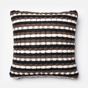 Brown and Black Pillow