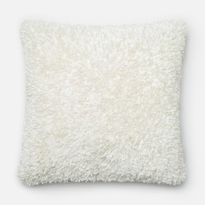 Bright and White Pillow   Loloi