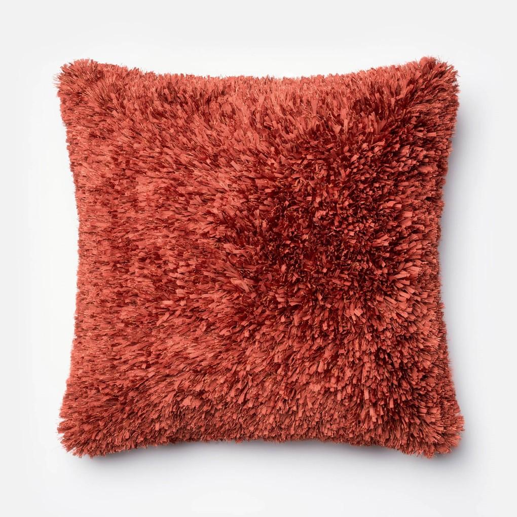 Rust Pillow   Loloi