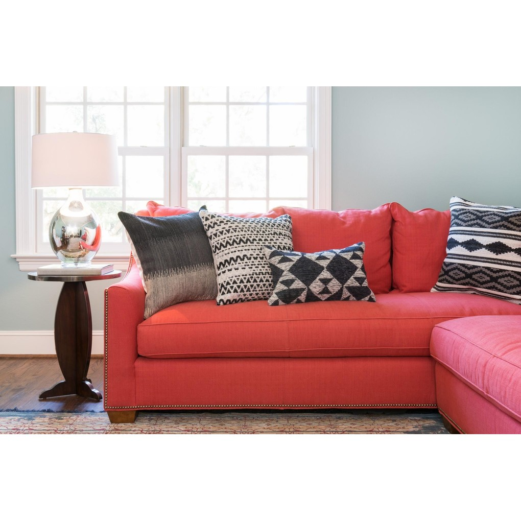 Grey and Multicolor Pillow | Loloi