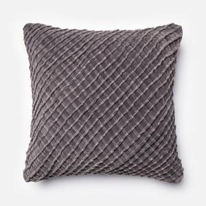 Charcoal Pillow   Loloi