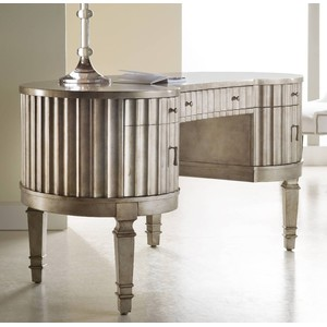 Fluted Kidney Desk