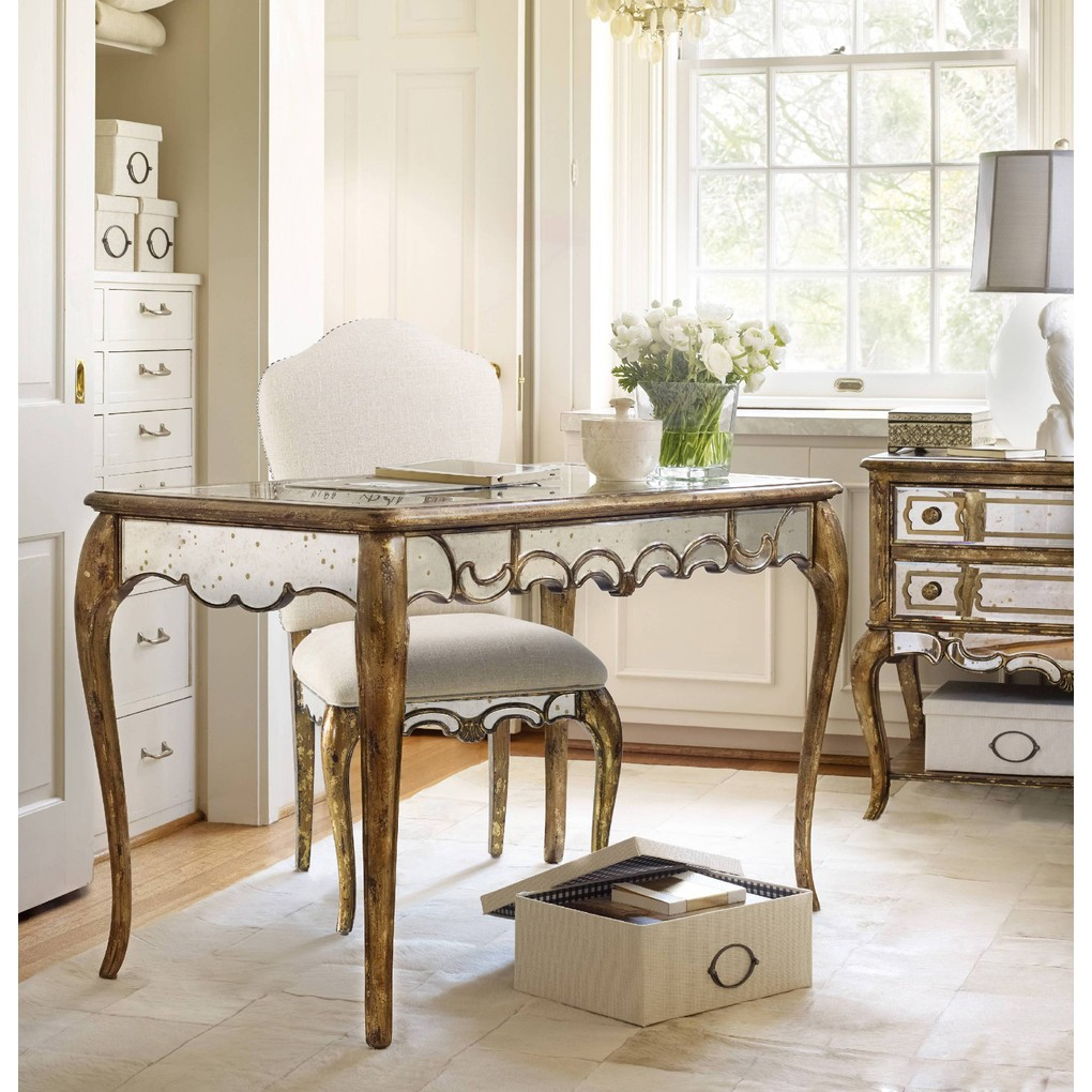 Mirrored Writing Desk | Hooker Furniture