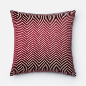 Red and Beige Pillow