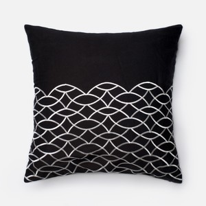 Black and White Pillow