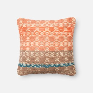 Rust and Light Brown Pillow