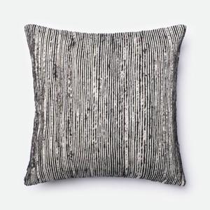 Black and Multicolor Pillow | Loloi