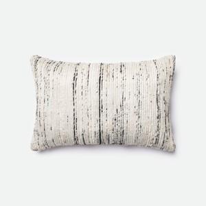 Silver and Multicolor Pillow | Loloi