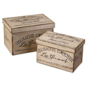 Chocolaterie Decorative Boxes | The Uttermost Company