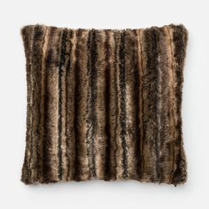 Brown Pillow | Loloi