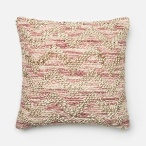 Lilac and Beige Pillow