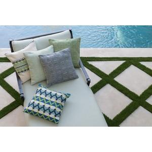 Aqua and Ivory Pillow | Loloi