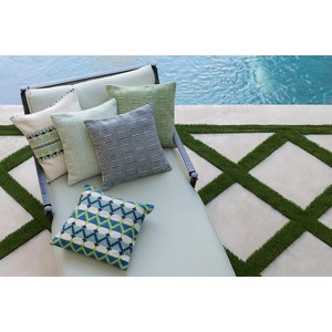 Blue and Ivory Pillow   Loloi