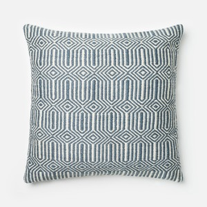 Blue and Ivory Pillow