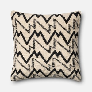 Black and Ivory Pillow