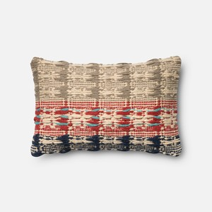 Red and Blue Pillow