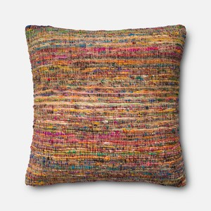 Pink and Multicolor Pillow   Loloi