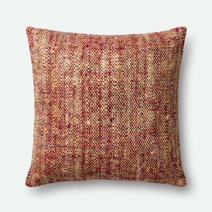 Red and Multicolor Pillow   Loloi