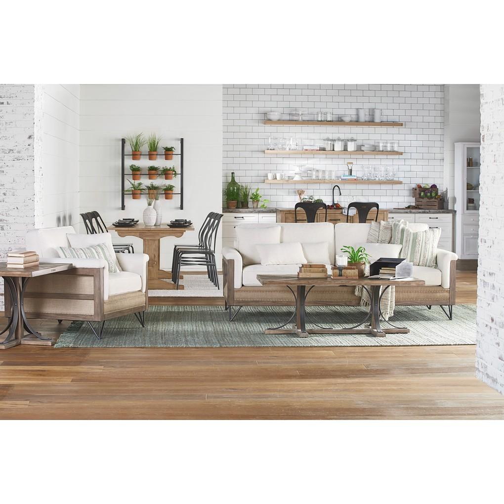 Paradigm Sofa with Two Throw Pillows | Magnolia Home