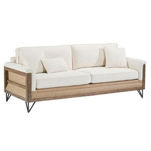 Paradigm Sofa with Two Throw Pillows | Magnolia Home
